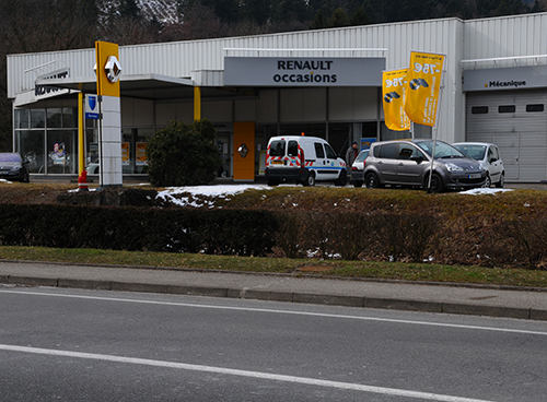 Reprise du garage Thann Autos à Bitschwiller-lès-Thann