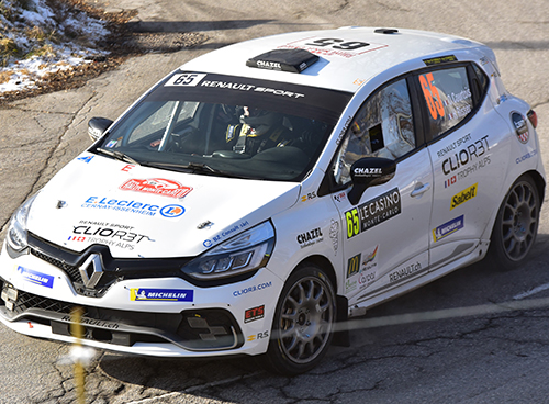 Participation au Rallye de Monté Carlo